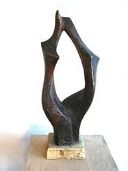 tanzende Schwestern, Bronze, 60 cm, 2003