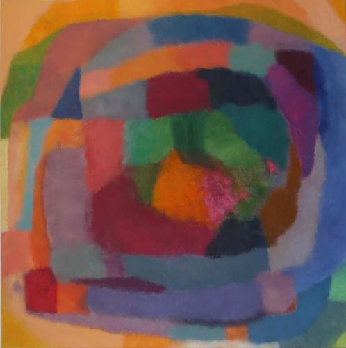 Farbklang Nr. 26, 2012, Leinwand, 60x60