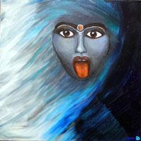 Kali--Licht-Schatten