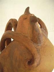 Gockel, Steinzeug, 50 cm, 2007